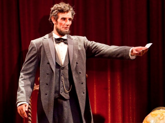 """Mr. Lincoln"" Returns to Disneyland"