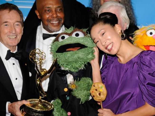 Emmy Round-up: When Oscar Met Sandra...
