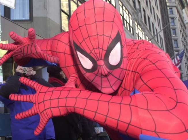Officers Investigate Spidey-Senseless Act