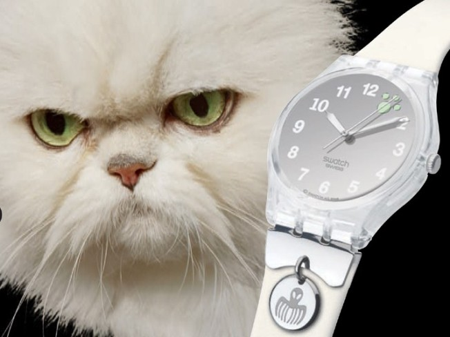 Swatch Villain Watches Make Us Meow