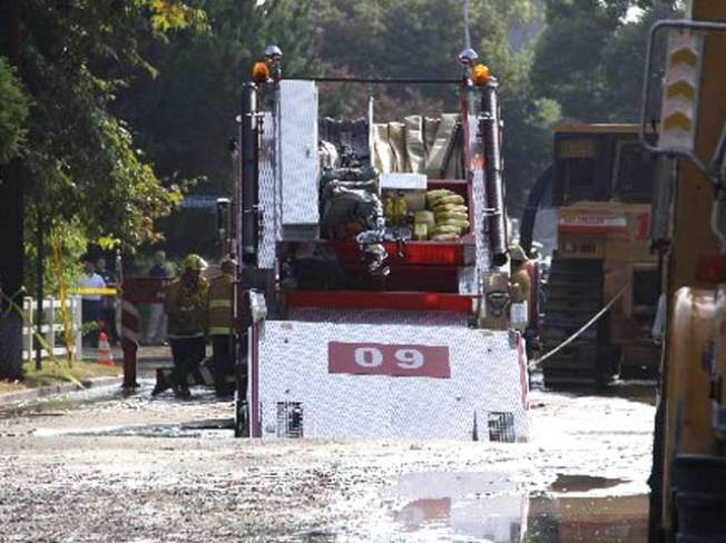 When Fire Engines Fall Prey to Sinkholes...