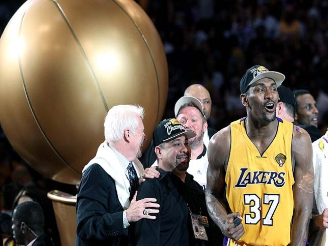 Lakers Beat Boston at Their Own Game for Title