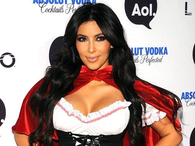Kim Kardashian in Studio with The Dream: Reports