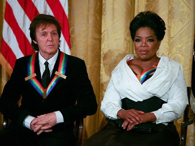 Winfrey, McCartney In DC For Kennedy Center Honors