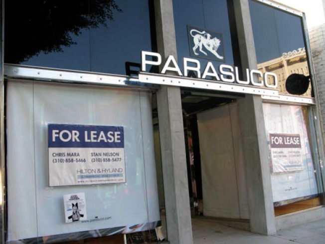 Discontinued: Parasuco on Robertson