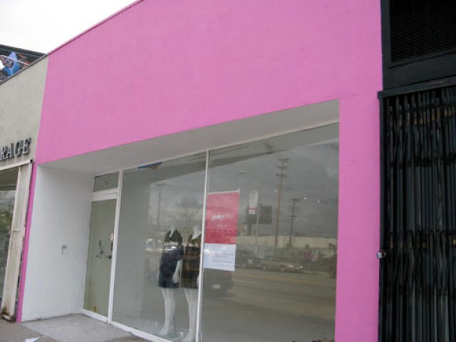 Storecasting: First Signs of Pinkyotto on West 3rd