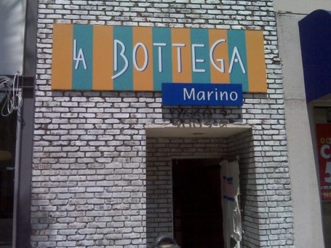 Signage at La Bottega, Malibu Wine Classic, Recess Opens Tonight