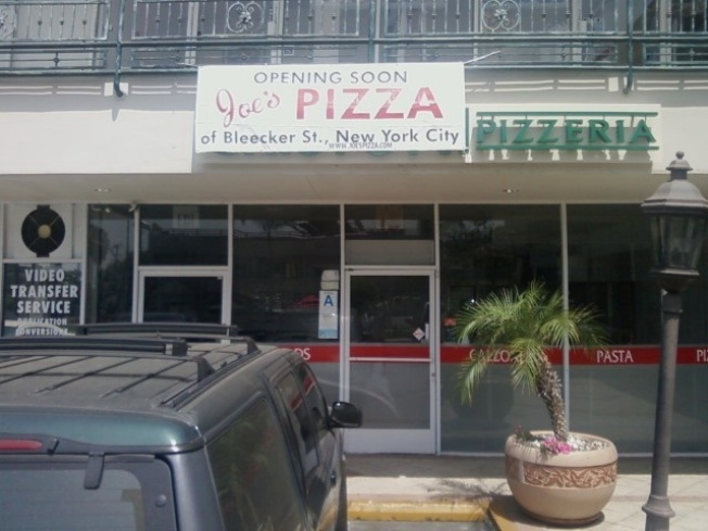 Spotted: Joe's Pizza Moves into West Hollywood
