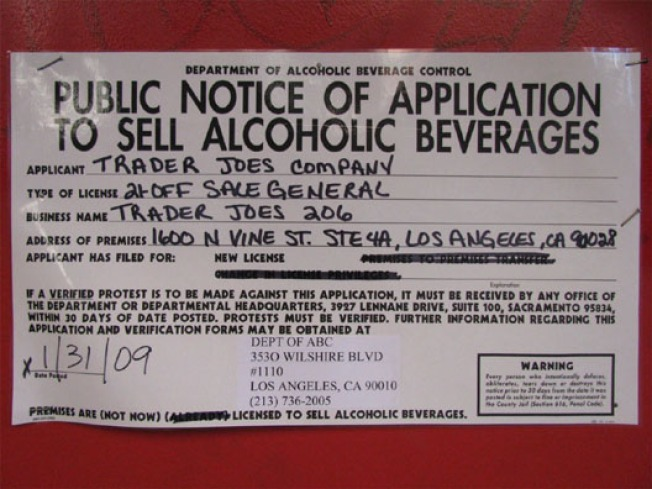 Storecasting: Signs of Trader Joe's Appear in Hollywood