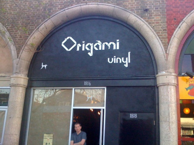 Storecasting: Origami Vinyl Tunes Up in Echo Park