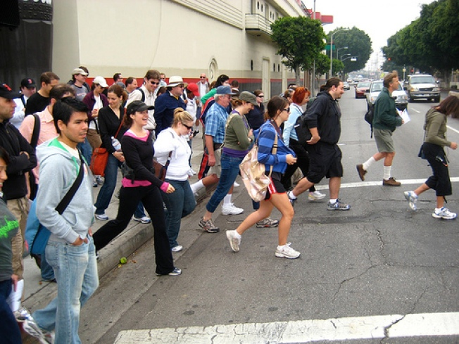 Great Los Angeles Walk 2008 Announced