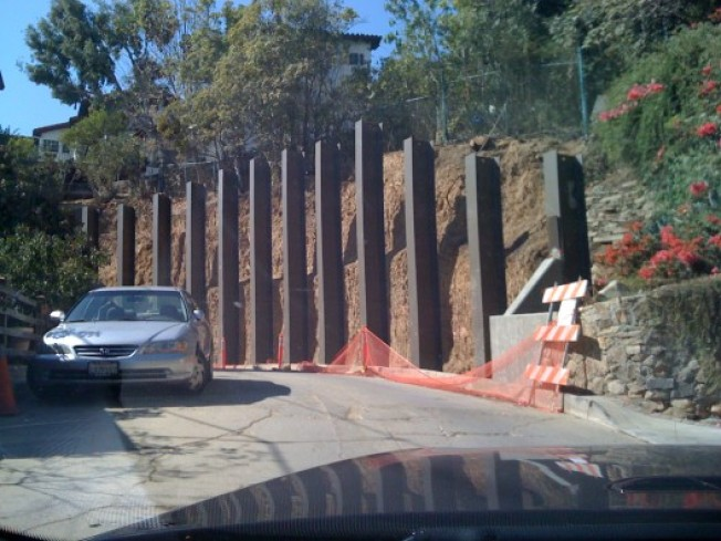 CurbedWire: Big Hollywood Retaining Wall, Urban Land Institute