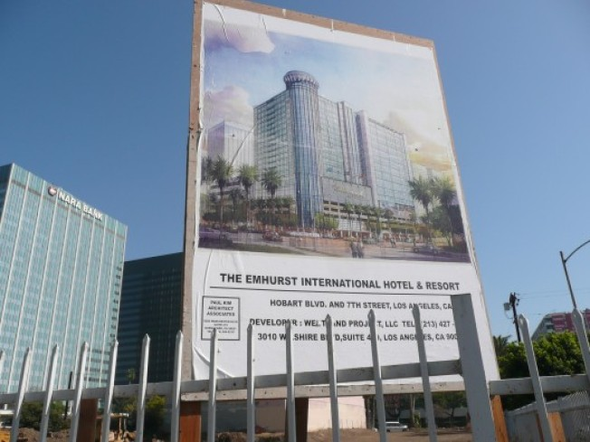 CurbedWire: Koreatown's Emhurst Hotel Sign Gathers Dust, Casino Bus Complaints