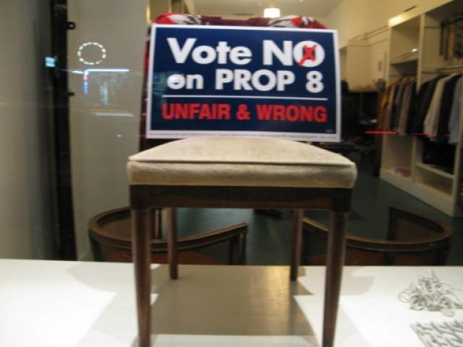 Window Shopping: West 3rd Street Boutiques Say No on Prop 8