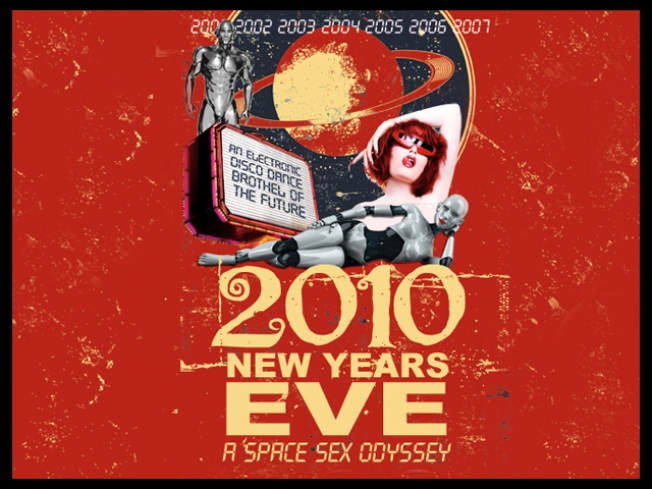 Miss Kitty's 2010 New Years Eve: A Space Sex Odyssey