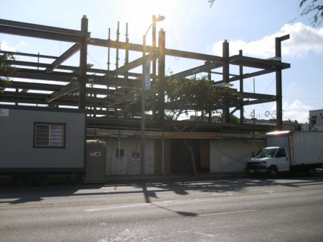 Construction Watch: Sierra Bonita Showing Steel