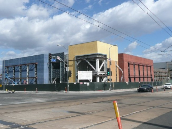 Construction Watch: East Los Angeles High School #1