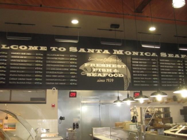 Santa Monica Seafood's New Locale Debuts