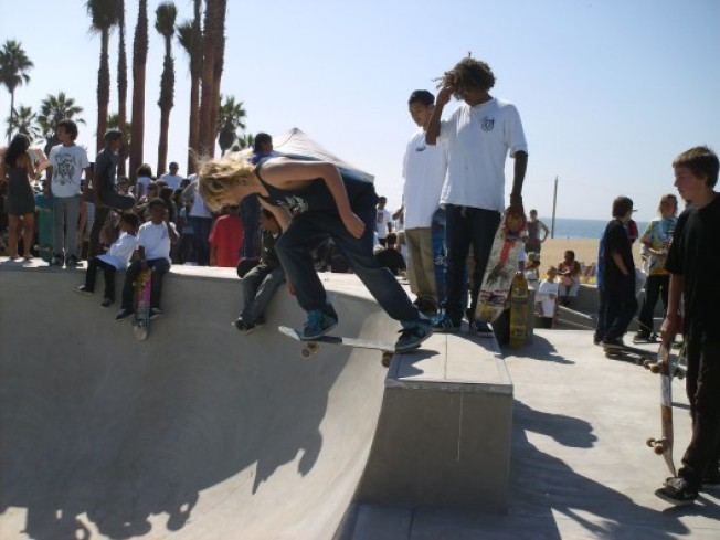 New Skateboard Park Now Open in Dogtown