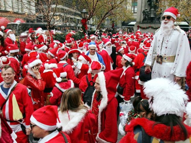 Santacon: Be Loud, Obnoxious and Jolly