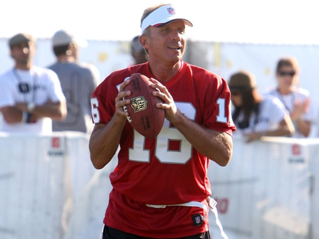 Joe Montana Will Play in Final Football Game at Candlestick Park in 'Legends of Candlestick' Flag Football Game