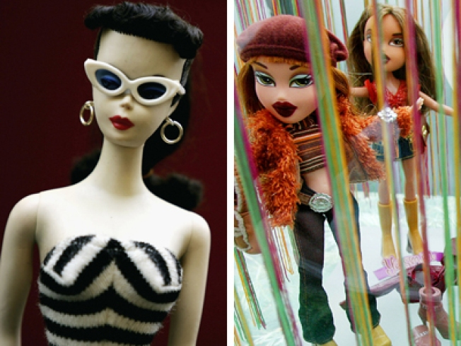 Doll on Doll Action: Barbie Beats Bratz Girls