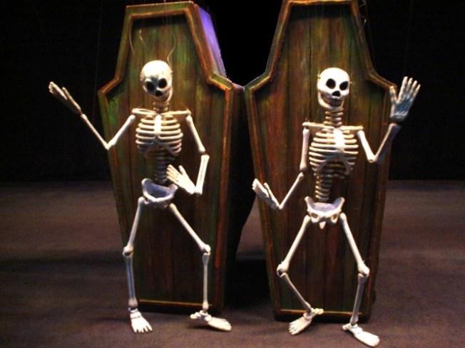Marionettes Make Halloween Mischief