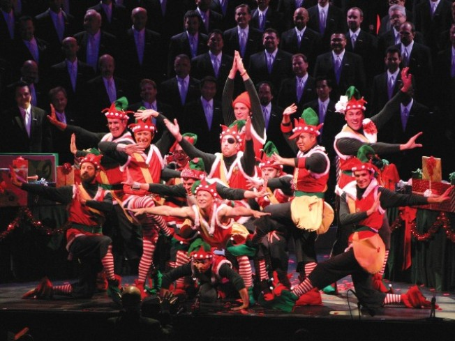 Gay Men's Chorus Holiday Spectacular Welcomes the Stars