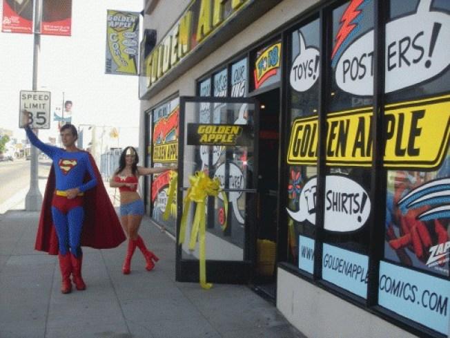 Stores We Smooch On: Golden Apple & Meltdown Comics
