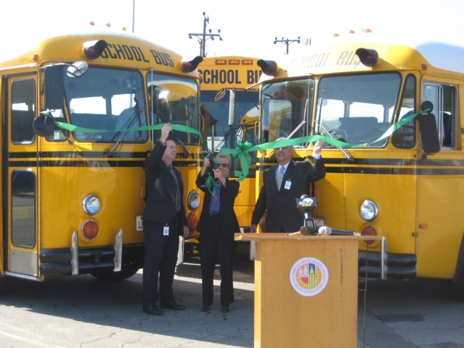LAUSD School Buses Going Green