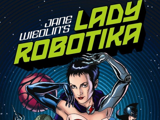 "Jane Wiedlin Signs ""Lady Robotika"""