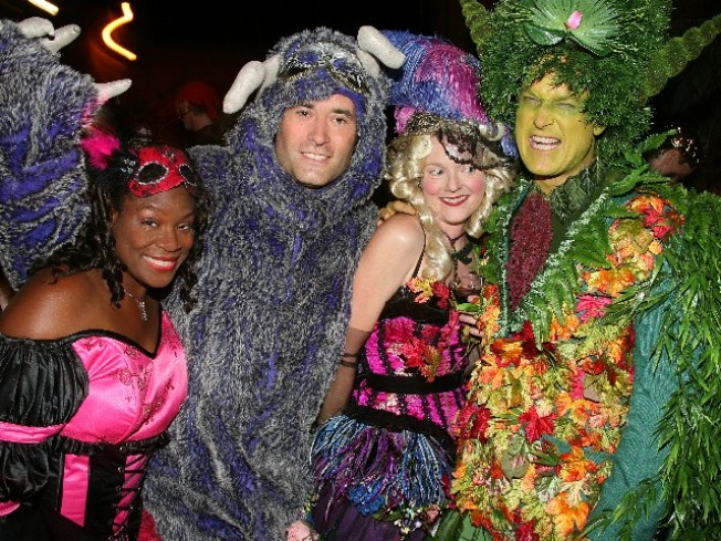 """Labyrinth"" Masquerade Attracts Merry Fairies"