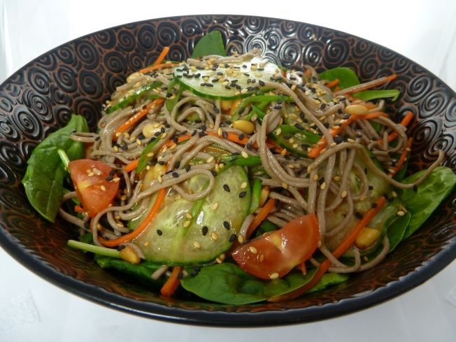 Weekend Dining: Green Tea Soba Noodles