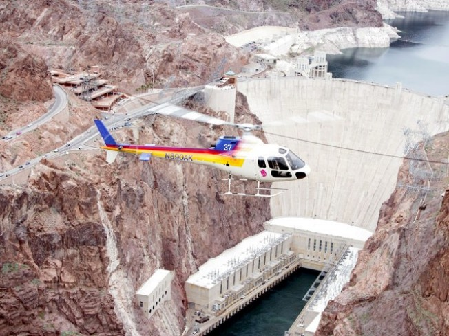 Worth the Drive: Hoover Dam by Air