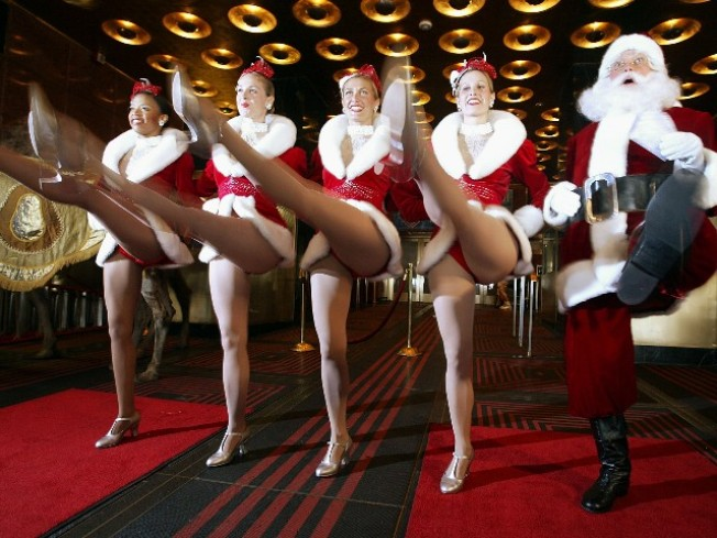 Rockettes and Fans Kick Together at the Pier