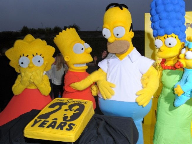"How Was Your Weekend? ""Simpsons"" Night, Awards Show..."