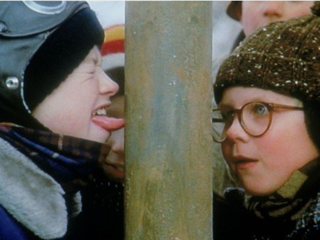 "Double Dog Dare Ya to See ""A Christmas Story"" Played Large"