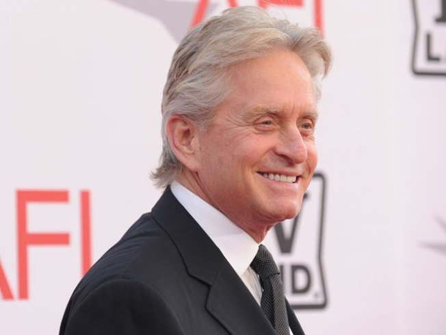 Michael Douglas Is Determined To Defeat Cancer