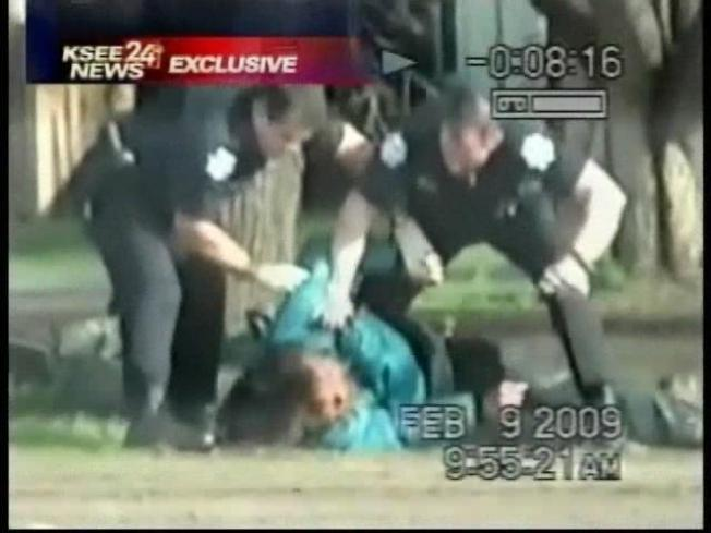 Caught on Tape: Police Beat Homeless Man
