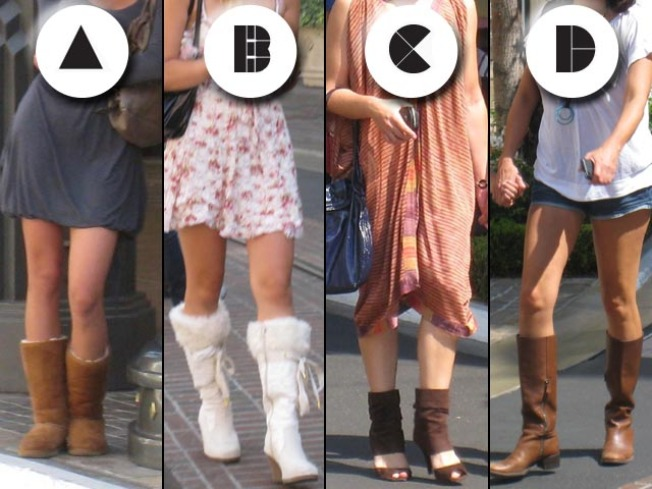 These Boots Are Made For Walking: Who Actually Pulls it Off?