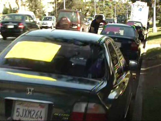 La County Bans For Sale Street Parking Nbc Southern California