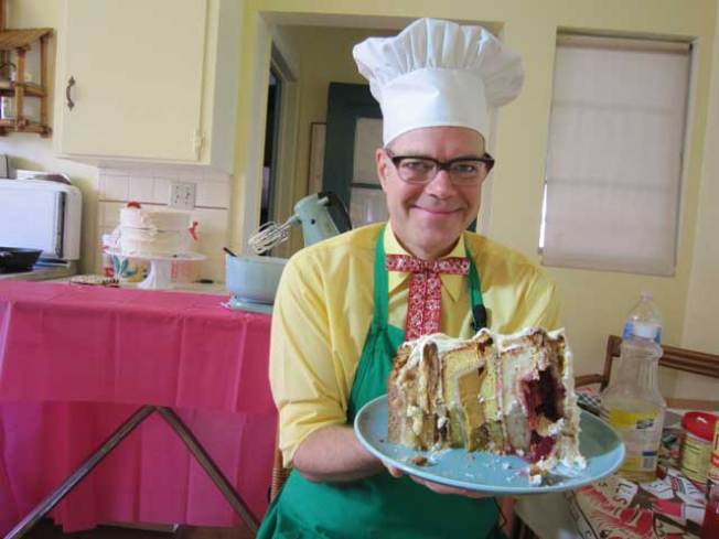 "Recipe: The Cherpumple ""Monster"" Pie Cake"