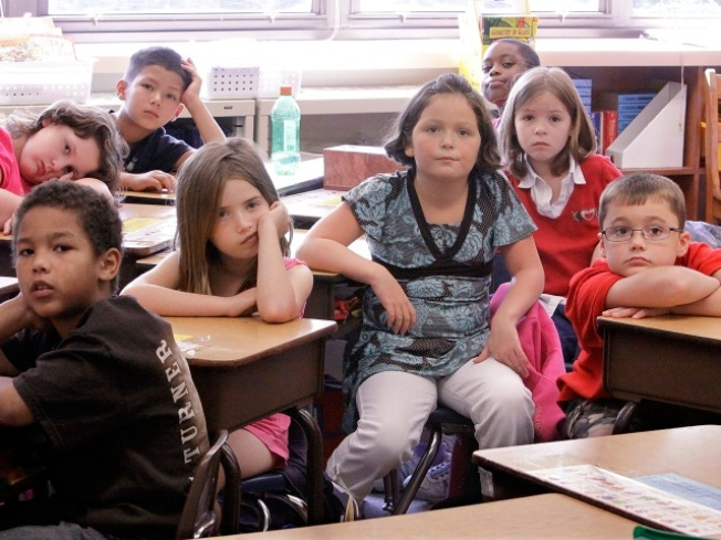 Overcrowded Classrooms About to Burst