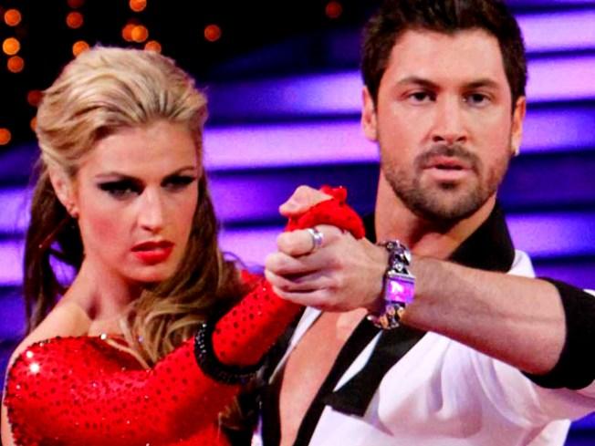 """Dancing's"" Erin Andrews & Maksim Chmerkovskiy Talk Romance Rumors"