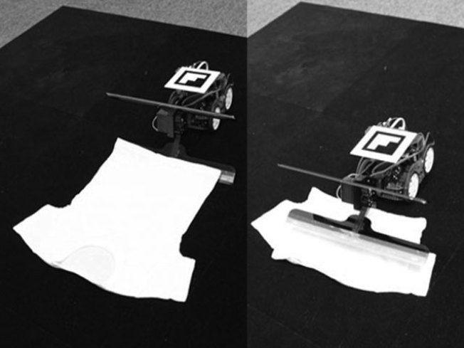 A Story Unfolds: New Robot Folds Your Laundry