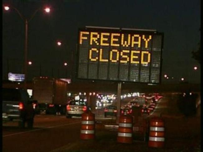 91 Freeway Closures in Effect Friday Night