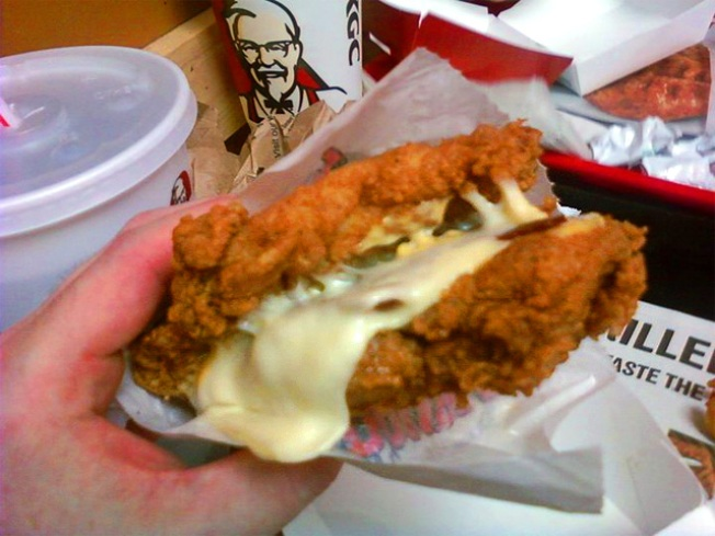 Reviewing the KFC Double Down