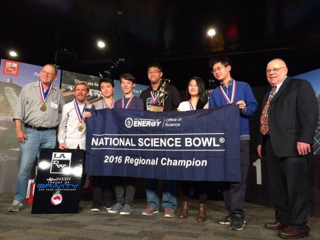 North Hollywood High School Team Wins LADWP Science Bowl XXIV