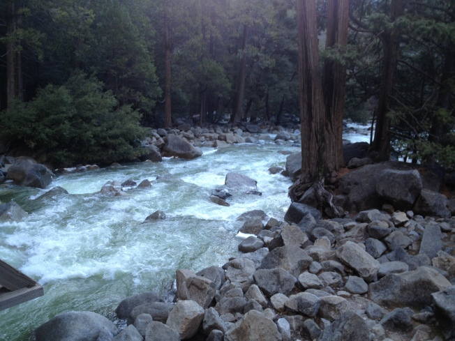 Yosemite Park Rangers Search For Man Swept Over Waterfall