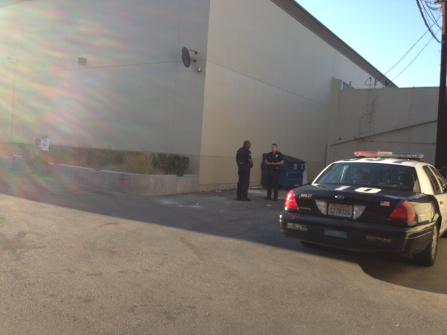 Body Found on Supermarket Loading Dock